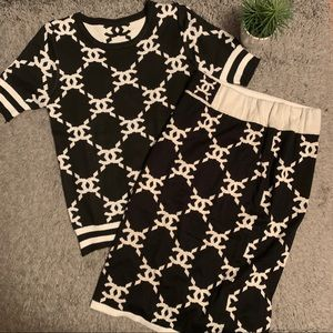 Other - Fashion blouse & skirt set